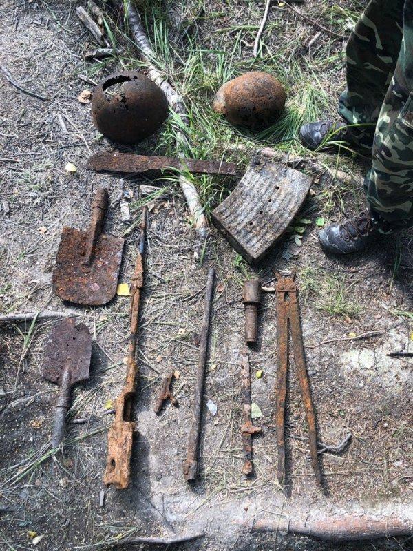 Поисковый отряд «Искатель» имени А.И. Засухина вернулся из экспедиции в Киришский район Ленинградской области