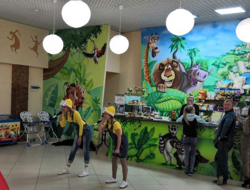 20 октября в кафе «Джунгли парк» прошла веселая детская развлекательная программа «Bananaaa»!